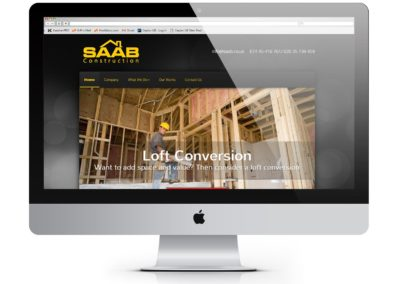 SR Saab Construction Website