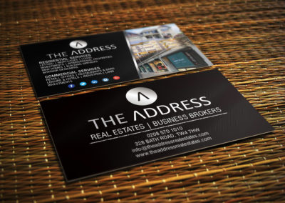 The Address Business Card